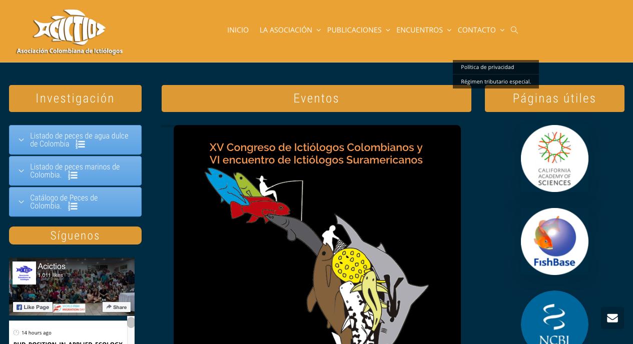 Acictios – Asociación Colombiana de Ictiólogos